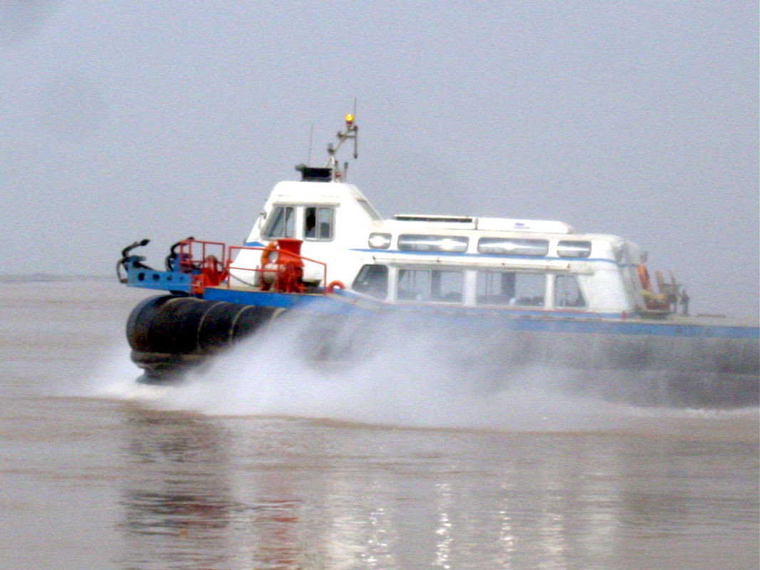 Cross Channel Ferry Barge Multi - Purpose With Air Cushion Platform
